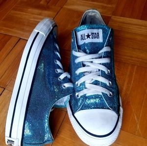 Converse All-Star Aqua Blue Low top Sneakers